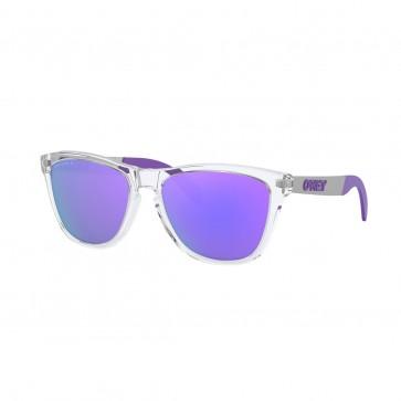 Lentes Oakley Frogskin Mix Polished Clear PRIZM Violet polarizado