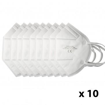 Pack de 10 Mascarillas KN95