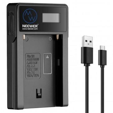 Cargador USB Baterias NP-F550 Neewer