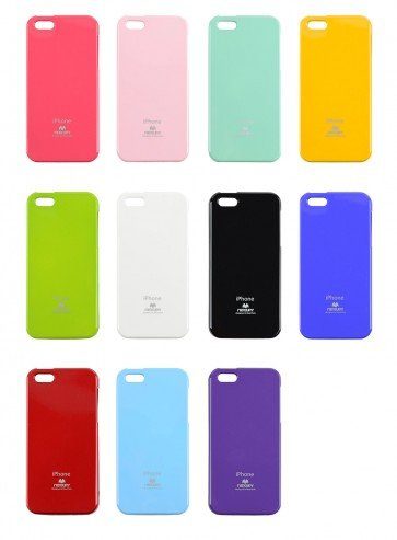 Carcasa iPhone 5/5s JellyCase - Mercury