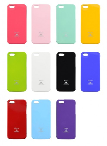 Carcasa iPhone 4/4s JellyCase - Mercury