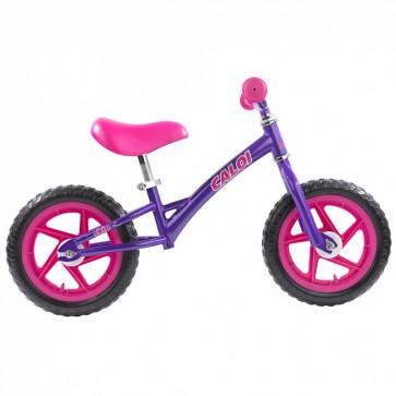 """Bicicleta de Balance Caloi 12"""" Morada"""