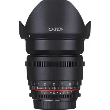 Lente de Cine DS de fotograma completo Rokinon 16 mm T2.6 (montura MFT)