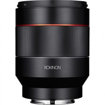 Lente Rokinon AF 50mm f / 1.4 FE para Sony E