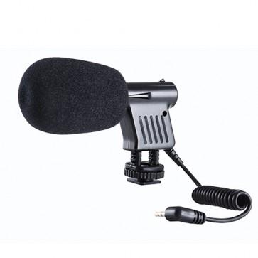 Mini Micrófono Condensador Unidireccional Boya BY-VM01
