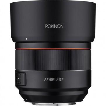 Lente AF Rokinon 85mm f / 1.4 para Canon EF