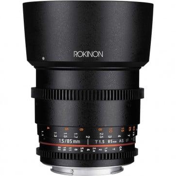 Lente Rokinon 85mm T1.5 Cine DS para Sony E-Mount