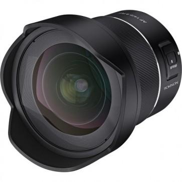 Lente RF Rokinon AF 14mm f / 2.8 para Canon RF