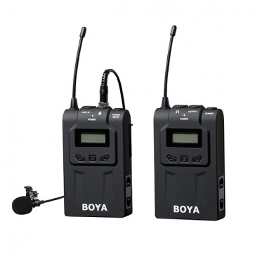 Sistema de Micrófono iInalámbrico UHF BY-WM6 1