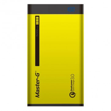 Bateria Externa de 15.000 mAh MasterG