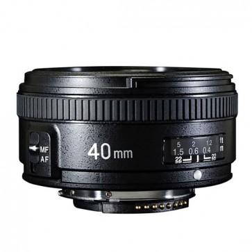 Lente Yongnuo 40 mm F2.8 para Nikon