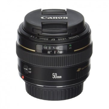 Lente 50mm Canon f1.4 USM