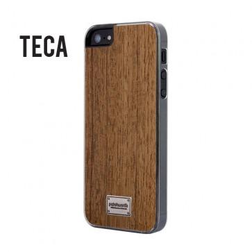 Carcasa iPhone 5/5s Diseño Madera - Patchworks