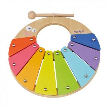Arcoiris de percusión para bebé - un juguete musical Boikido 1
