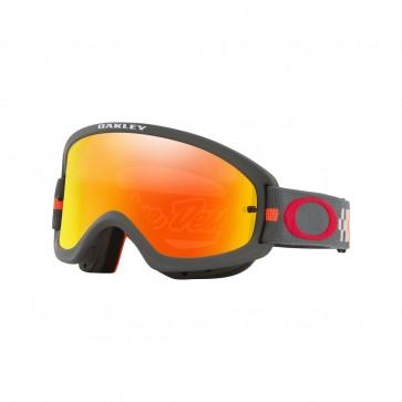 Antiparras Oakley O-Frame PRO XS MX TLD Fire Iridium