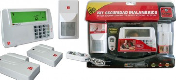 Kit Seguridad Inalambrico