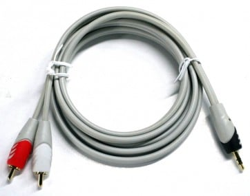 Cable Audio Mini rca 1.8 mts Profesional