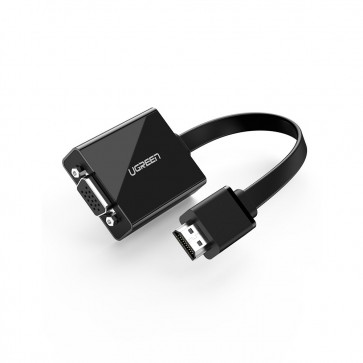 Adaptador Activo de HDMI a VGA con conector de Audio - Ugreen