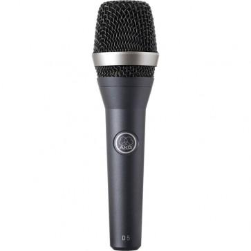 Micrófono vocal Supercardioide Dinámico Profesional AKG D5