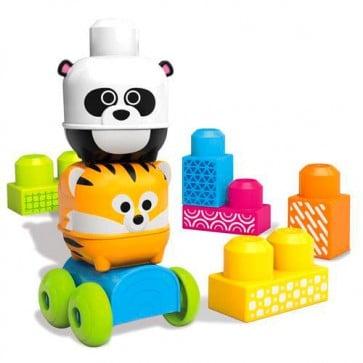 Juego Mega Bloks Amigos de la Selva Tigre Panda 10 pcs Fisher Price 1