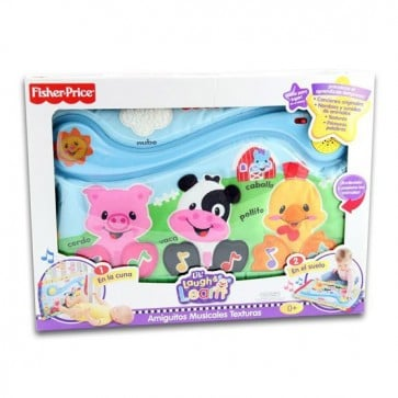 Tablero Amiguitos Musicales Texturas - Fisher Price