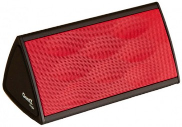 Parlante Portátil Bluetooth Oontz Angulo - Cambridge Soundworks color rojo