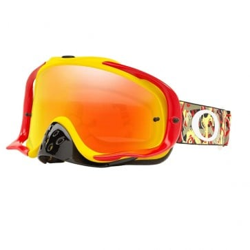 Antiparras Moto Oakley Crowbar MX Fire Iridium