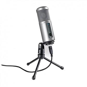 Micrófono Audio-Technica Con Conexion USB