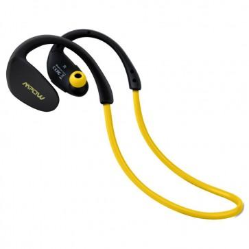 Audífonos para Correr Bluetooth Cheetah Amarillos - Mpow