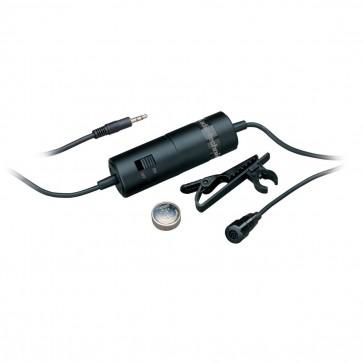 Microfono Stereo Lavalier de Condensador - ATR-3350 - Audiotechnica