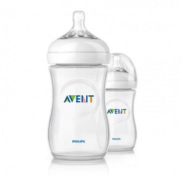 Pack 2 Mamaderas 260ml 1m+ - Avent