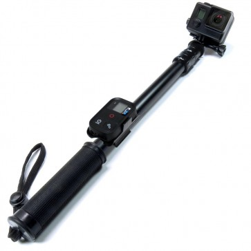 Baston para GoPro Sandmarc (Nueva Version) Black Edition + Remote Clip