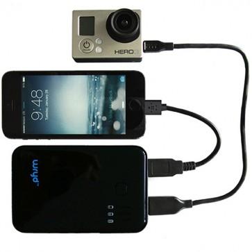 Batería Externa 5000mAh - Portable Power Pack - Wryd - Conectada