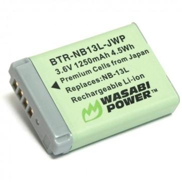 Bateria NB-10L para Canon - Wasabi Power