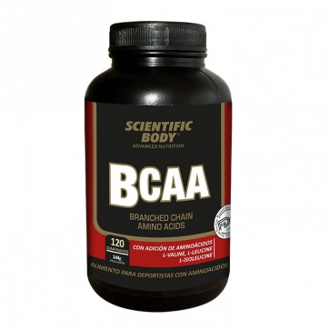 BCAA 120 Tab Scientific Body