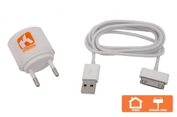 Cargador Iphone4 blanco