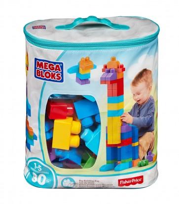 Juego de bloques Mega Bloks surtido de 80 piezas - Fisher Price 1