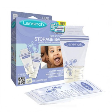 Bolsas Almacenamiento Leche Materna 25 u. - Lansinoh