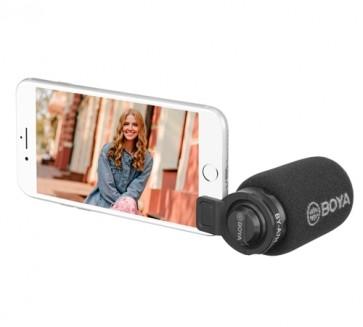 Microfono condensador para teléfonos Boya BY-A7H