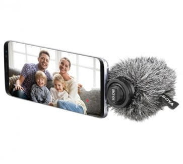 Microfono para Celular Stereo Tipo C Boya BY-DM100