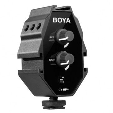 Adaptador de Audio para Celular y Camara DSLR Boya 1