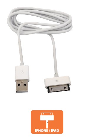 Cable Iphone 4 Blanco