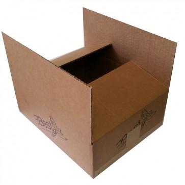 Caja de Carton 14C - Plana 15x15x15  - C3