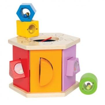 Juego de encaje caja con forma para niños - Hape 1
