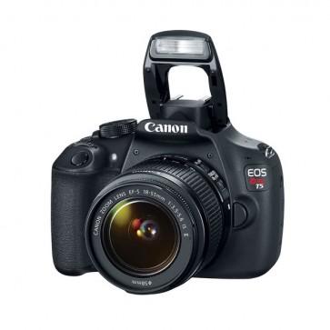 Camara Reflex Canon T5 + Lente EF-S 18-55 III