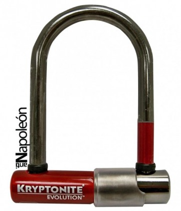 Candado Kryptolok Evolution Mini-5 Ruby Edición Limitada - Kryptonite