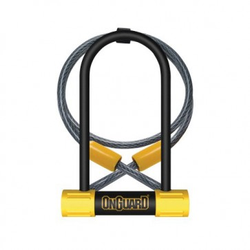 Candado U-Lock Bulldog Medium DT Cable - OnGuard