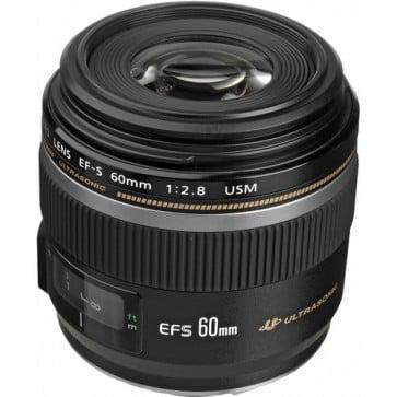 Lente Canon EFS 60mm f/2.8 Macro USM