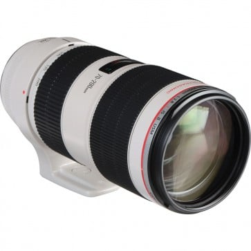Canon EF 70-200mm f/2.8L IS II USM con Case LZ1326 & Hood ET-87