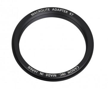 Adaptador Macrolite 67 Canon